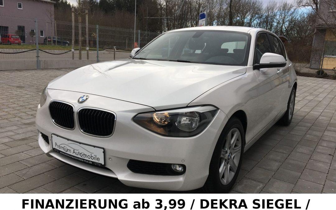 BMW 116d Aut. Navigation Sitzheizung PDC